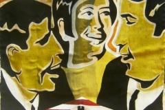 Estandarte 5 O povo brasileiro 129X129 cm 1967
